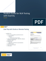 NLN StudentGuide for Examity