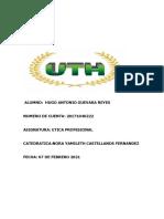 ETICA PROFESIONAL HUGO 2021