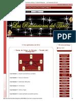 - Forma de Echar La Baraja - Tirada Del Pentagrama - - Las Revelaciones Del Tarot