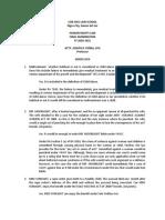 3rd Exam Human Rights Law- Beldia