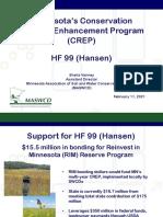 MASWCD presentation on RIM for HF99
