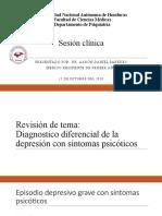 tema Diagnostico diferencial de Depresión psicótica