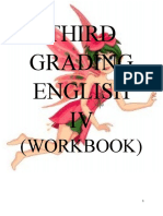 English Workbook 3rd Grading