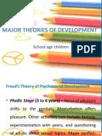 Major theories of development