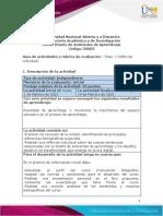 Guía de Actividades y Rúbrica de Evaluación – Unidad 1 - Paso 1 – Reflexión Individual