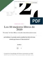 Los 50 mejores libros de 2020 | Babelia | EL PAÍS