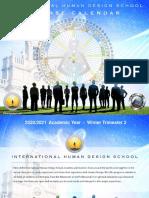IHDS 2020-2021- Course Calendar Winter Brochure 10-26-2020