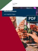 Alkoholkonsum Und Mögliche Folgen