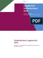 Geldwäscherei Report 2019