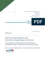 EcoAustria Endbericht BMWFW-Restrukturierung
