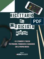 Ricettario Del Musicista Moderno-Musicraiser