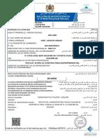Bulletin de Notification