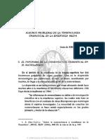 Artículo 2_algunos Problemas de La Terminología Gramatical en La Enseñanza Media, Jesús de Miguel