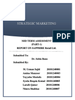 MKT-705 Mid Term Assignment