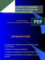 bleu LES DIFFÉRENTS EXAMENS D'IMAGERIE PRATIQUÉS EN ENDOCRINOLOGIE