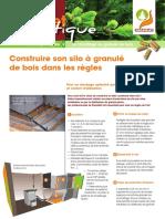 Fiche Pratique Propellet 2 Construire son silo à granulé de bois dans les règles