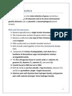 Bacterial genetics(1)
