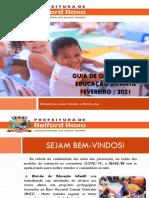 Guia de Atividades Creche i,II e III e Pre Escola IV e V