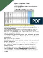 Fisa Excel