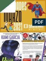 Novedades Editorial Hidra Marzo 2021