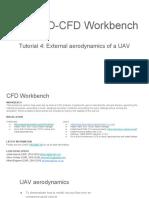 CFD Tutorial 4 - External Aerodynamics of a UAV