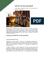 Guia essencial da cerveja artesanal