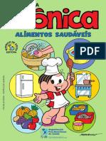 Turma Monica Alimentos Saudaveis