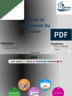 Expose Gonflement Et Retrait Du Béton .GC1