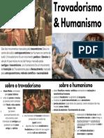trovadorismo e humanismo
