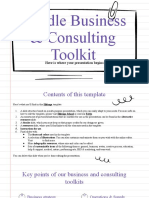 Doodle Business & Consulting Toolkit by Slidesgo
