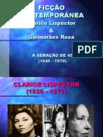 Clarice Lispector e João Guimarães Rosa