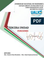 TERCERA UNIDAD FUNCIONES uni