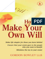 How to Make Your Own Will