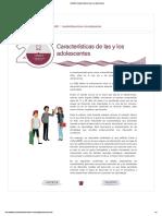 EHDMS_ Características de las y los adolescentes