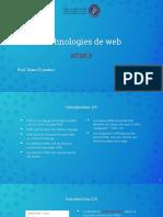 Technologie de web CH2 html