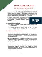 Cuestionario Derecho Penal Y Procesal