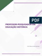 As Origens Históricas Do Conceito de Professor Pesquisador