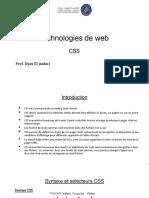 Technologie de web CH3 CSS