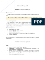 Laboratorio Petrogénesis II