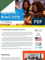 Estudo Inglês no Brasil 2019