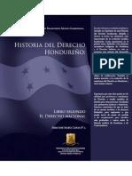 HISTORIADELDERECHOHONDUREÑOLIBROSEGUNDOELDERECHONACIONAL