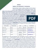 FORMATO ACTA DE ASAMBLEA CONSEJO COMUNAL LAS ANTENAS