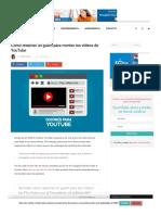 Guion para vídeos de YouTube_ Tips para estructurarlo y redactarlo