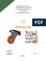 Informe Del Baloncesto