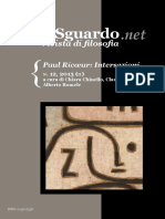 2013 12 Paul Ricoeur Intersezioni