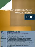 Pembinaan Dan Pengawasan Norma K3 Listrik