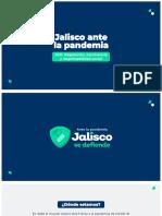 Jalisco Ante La Pandemia 2021 Adaptación, Convivencia y Responsabilidad
