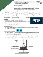 II.3.3 TP Synthèse du paracétamol