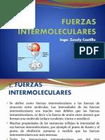 FUERZAS INTERMOLECULARES Y CAMBIOS DE FASE