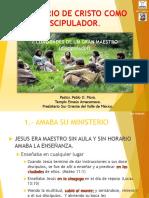 MINISTERIO DE CRISTO COMO DISCIPULADOR PASTOR PABLO MORA